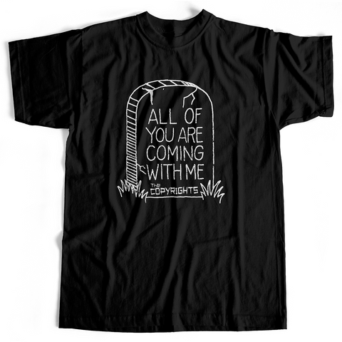 Copyrights - All Of You (T-Shirt, Black, S & Ladies M only)