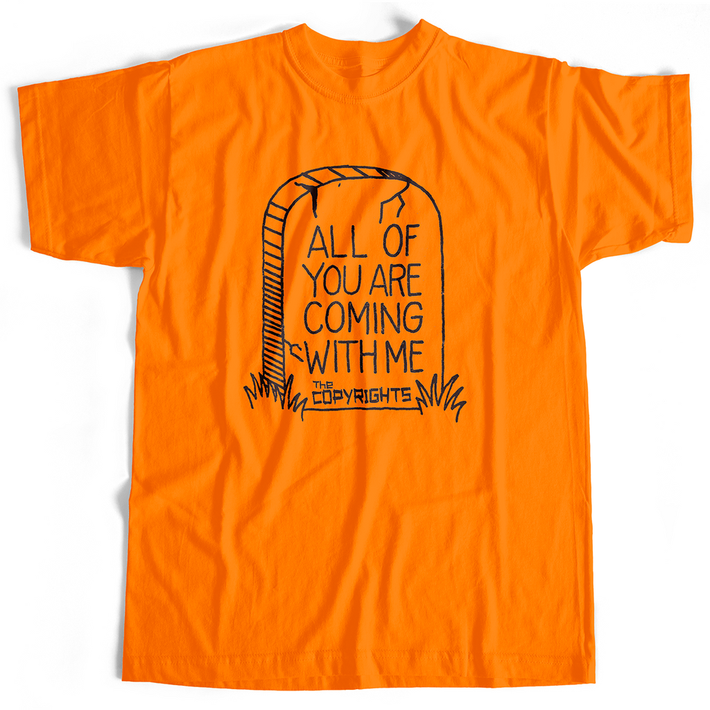 Copyrights - All Of You (T-Shirt, Orange, S & M only)