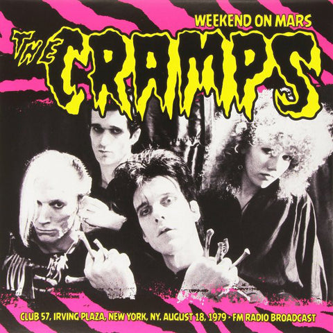 Cramps ‎- Weekend On Mars (LP)
