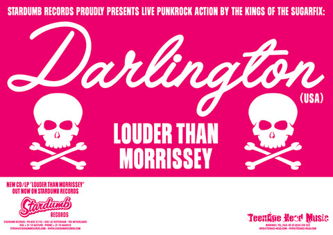Darlington - Louder Than Morrissey Tour 2002 (Poster)