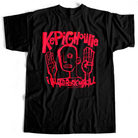 Kepi Ghoulie - I Bleed Rock N Roll (T-Shirt, Ladies M only)