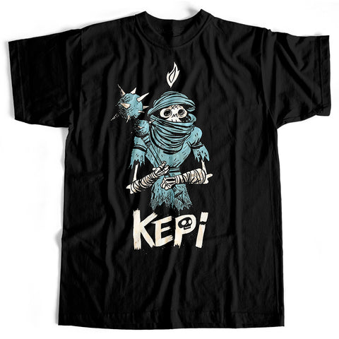 Kepi Ghoulie - Skeleton Warrior (T-Shirt)