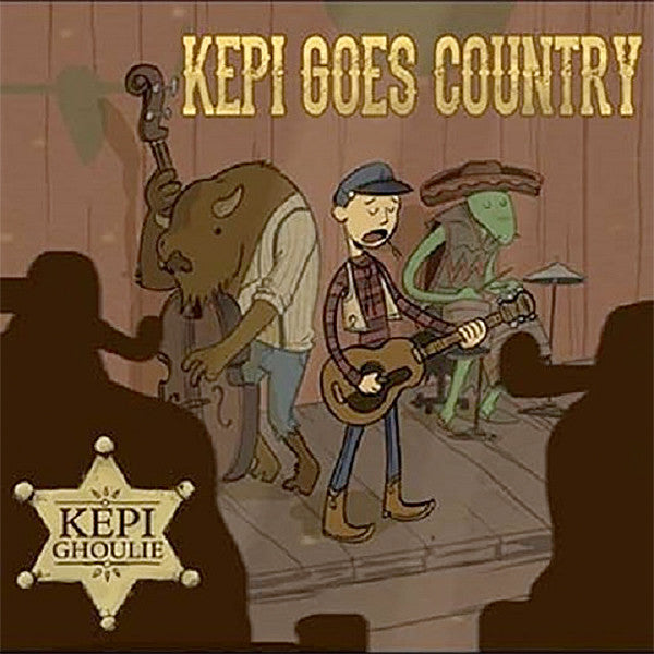 Kepi Ghoulie ‎– Kepi Goes Country (LP)