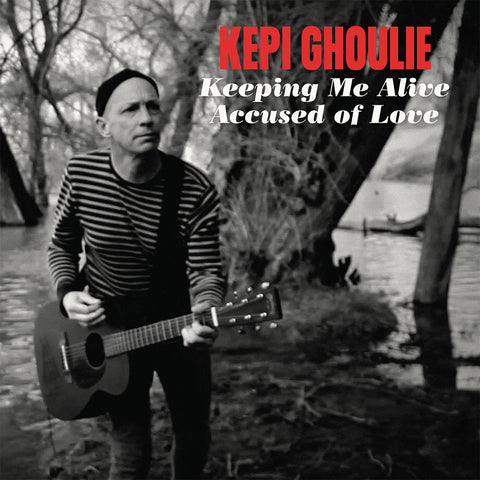 "Kepi Ghoulie - Keeping Me Alive/Accused of Love (7"") (PRE-ORDER)"