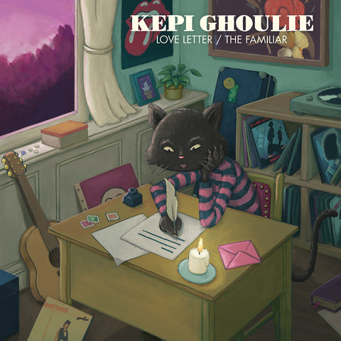 "Kepi Ghoulie - Love Letter/The Familiar (7"")"