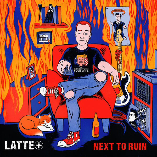 Latte+ - Next To Ruin (CD)