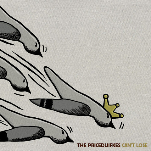 Priceduifkes ‎– Can't Lose (CD)