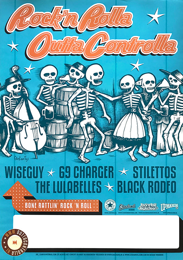 Various - 'Rock N Rolla Outta Controlla' Tour 2004 (Poster)