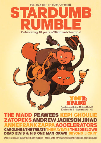 Various - Stardumb Rumble 2010 (Poster)
