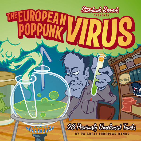 Various Artists - The European Pop Punk Virus, Vol. 1 (CD)