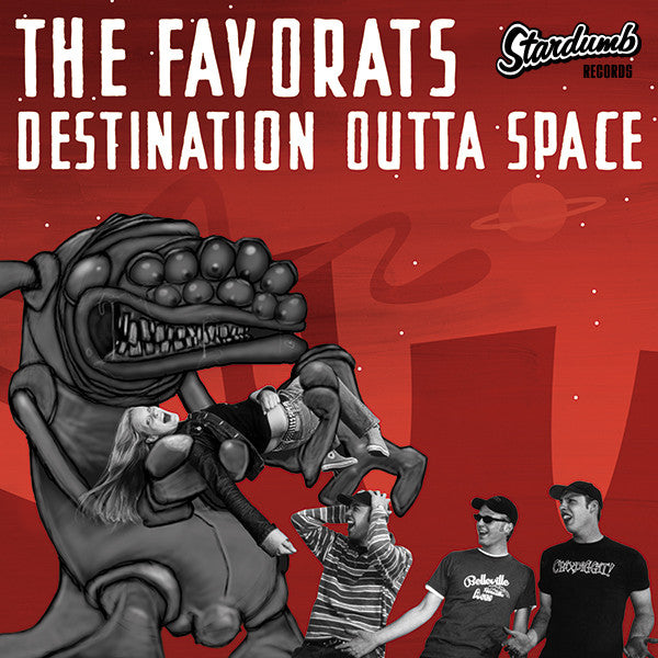 "Favorats - Destination Outta Space (7"")"