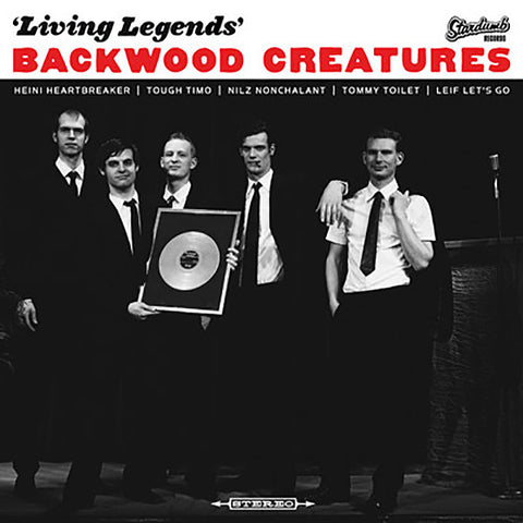 Backwood Creatures - Living Legends (CD)