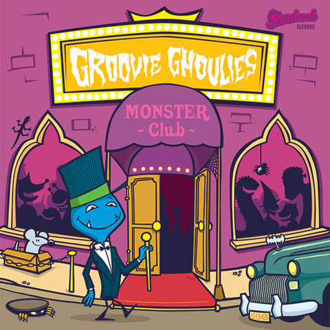 Groovie Ghoulies - Monster Club (CD)