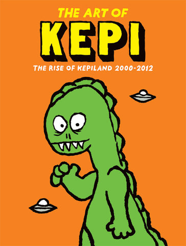 Kepi Ghoulie - The Art Of Kepi (Art Book)