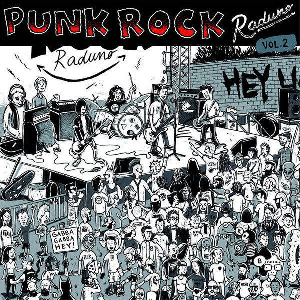 Various Artists - Punk Rock Raduno Vol. 2 (LP)