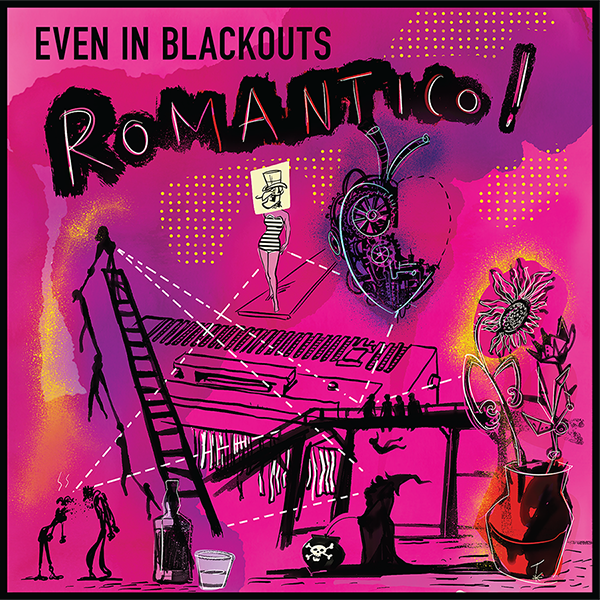 Even In Blackouts - ROMANTICO! (CD)