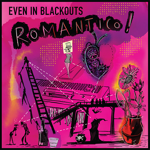 Even In Blackouts - ROMANTICO! (CD) (PRE-ORDER)