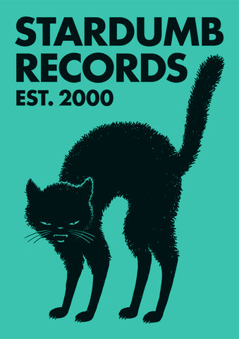 Stardumb Records - Black Cat (Poster)