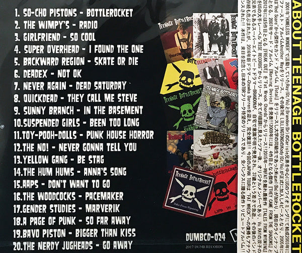 Various Artists - A Tribute To Teenage Bottlerocket (CD)