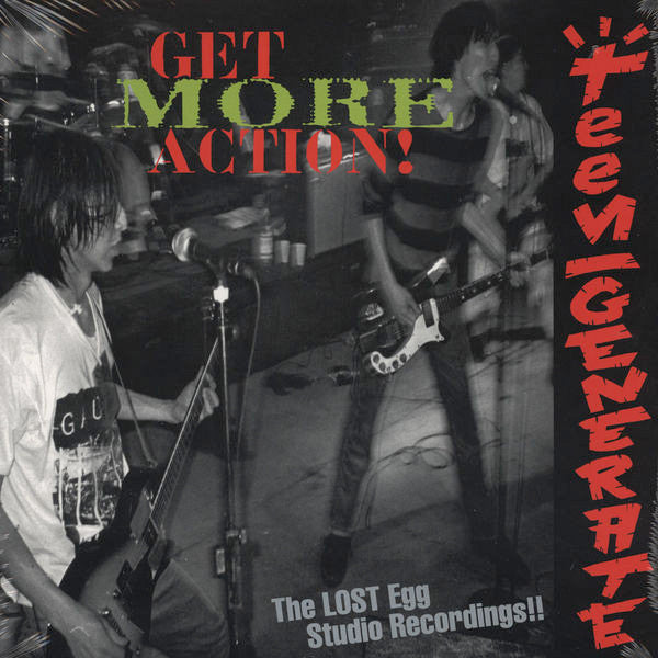 Teengenerate ‎– Get More Action! (LP)