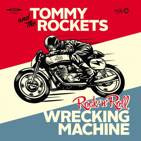 "Tommy And The Rockets - Rock 'n' Roll Wrecking Machine (7"")"