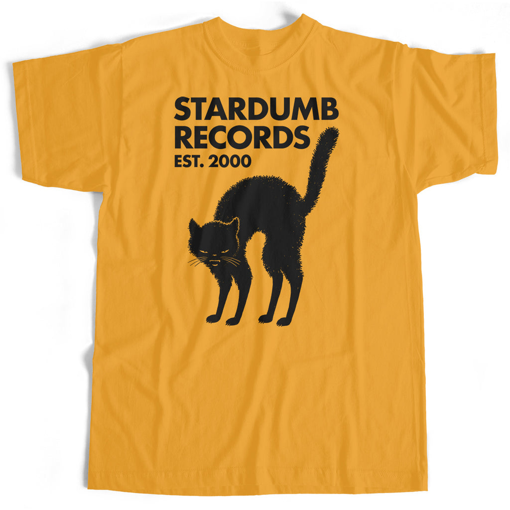 Stardumb Records - Black Cat (Gold T-Shirt)