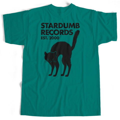 Stardumb Records - Black Cat (Jade Dome T-Shirt)