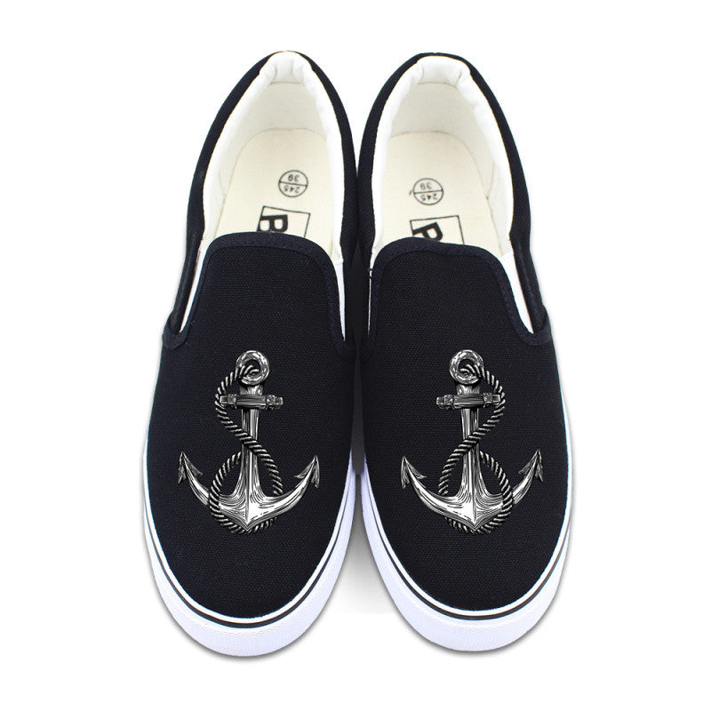 Low Top Anchor Sneakers