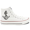 High Top Anchor Sneakers