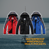 The Nautica - The Inner Fleece Waterproof Outdoor/Sailor jacket