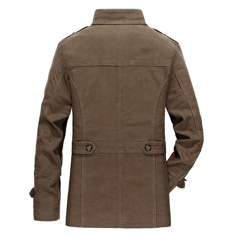 Trench Overcoat Jacket