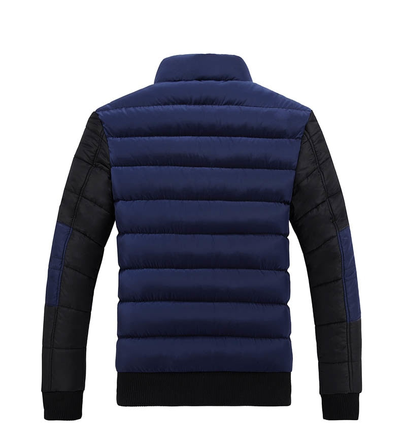 Collar Cotton-Padded Jacket