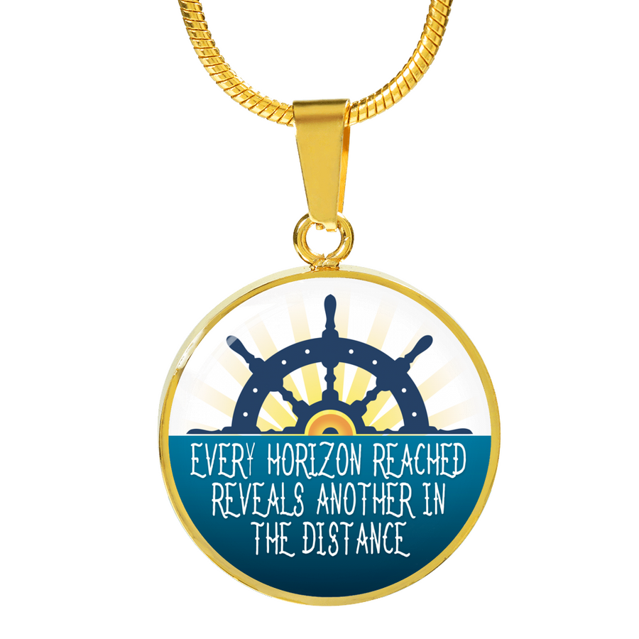 Every Horizon Reached Luxury Necklace