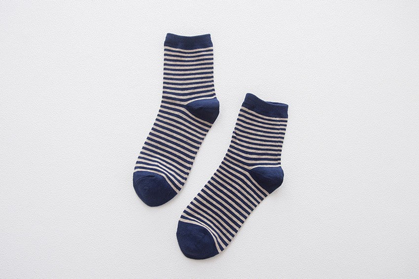 The Nautical Socks - 5 pair - 6-11 (EU 39-44)