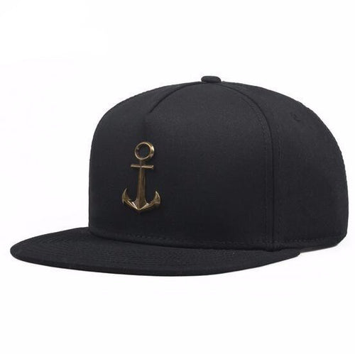 Metal Anchor Baseball Cap - Copper Black - Limited Edition