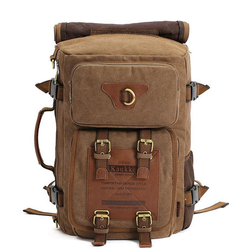 Gentleman's Multiple Usage Vintage Rucksack
