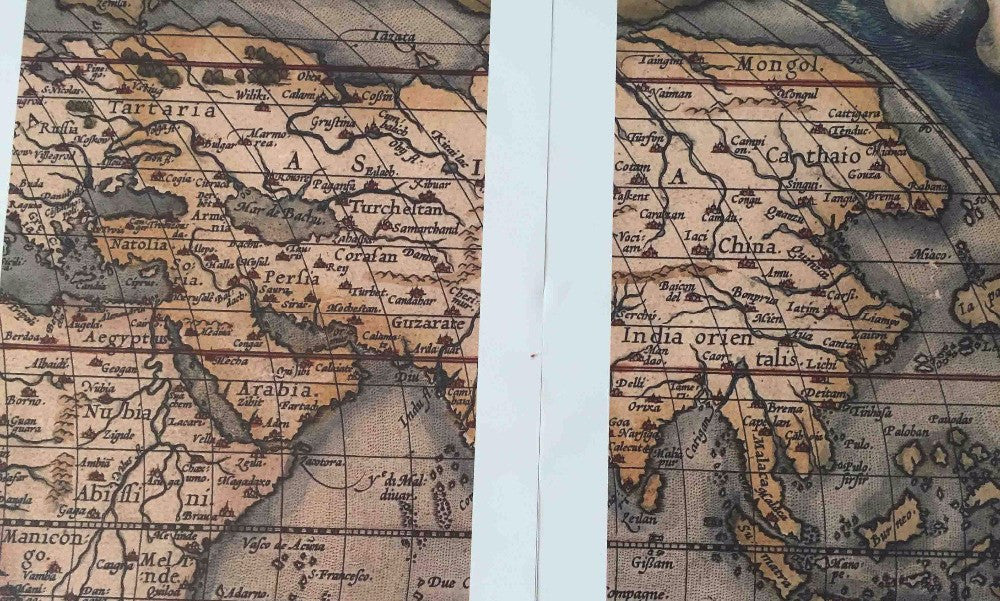 Vintage world map at anchor store vintage world map gumiabroncs Images