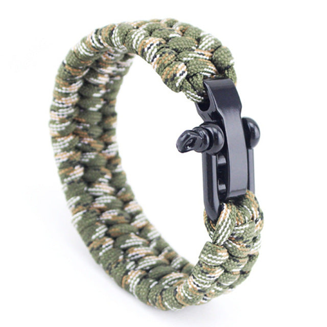 Jet Black Seaman's Shackle - Camo 2