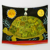 Green Turtle Tapestry