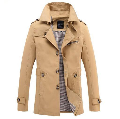 Gentleman's Trench Coat - The Spring Coat