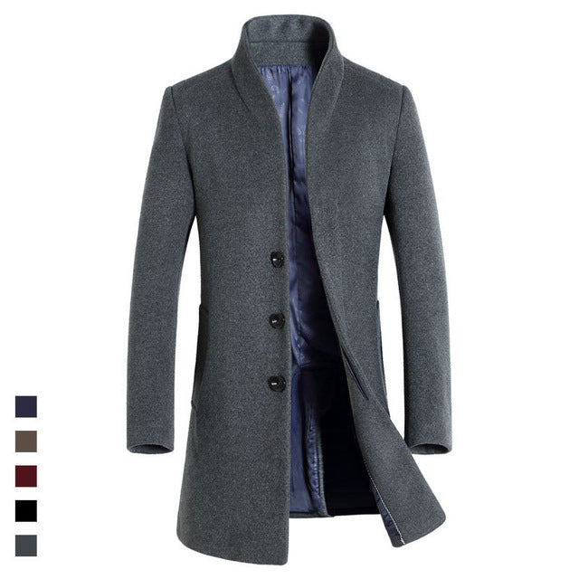 Gentleman's Trench coat - The Long Fit Trench coat
