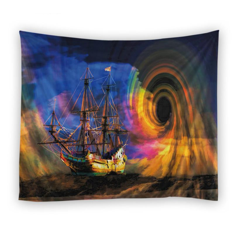 Swirling Ocean Tapestry