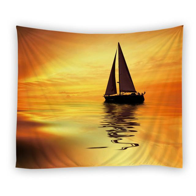 Sea Sunlight Tapestry