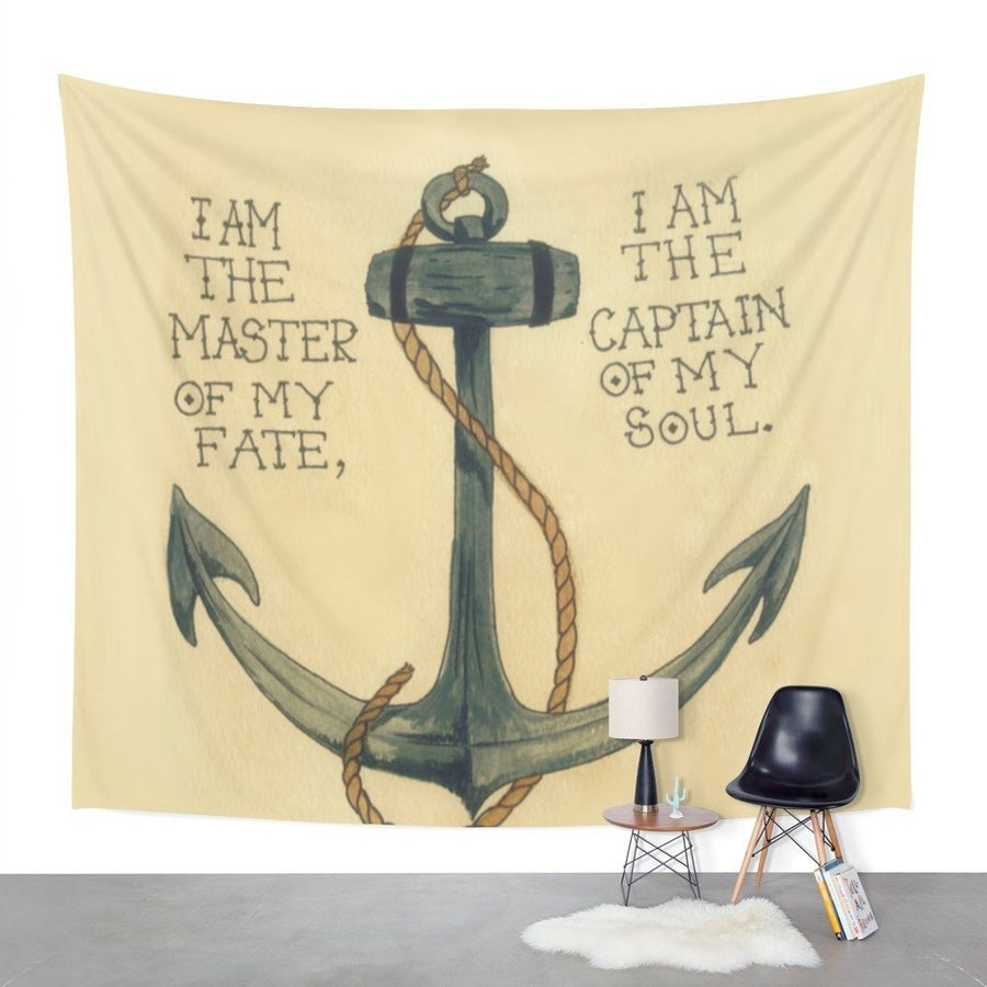 Explorer Anchor Wall Tapestry