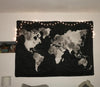 Explorer World Map Wall Tapestry