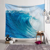 Ocean Big Wave Wall Tapestry