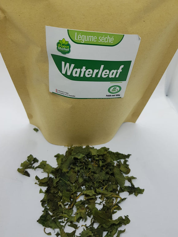 waterleaf séché