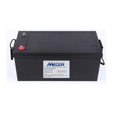 Mecer 200A 12V LiFePO4 Battery - [The Power Store]