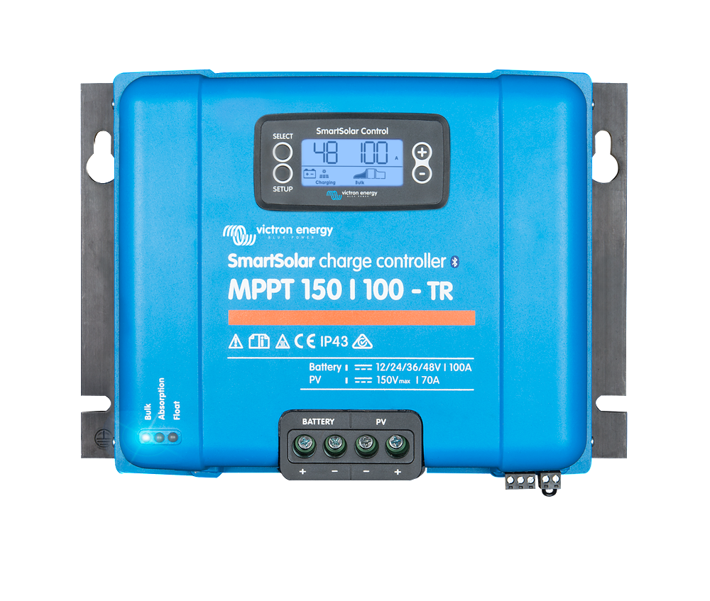 SmartSolar MPPT 150/100-Tr (12/24/36/48V-100A) - [The Power Store]