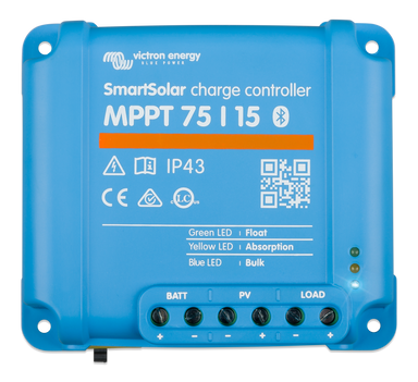 SmartSolar MPPT 75/15 (12/24V) - [The Power Store]